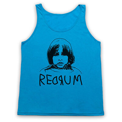 Redrum Danny Unofficial The Shining Kubrick Film King Adults Vest Tank Top