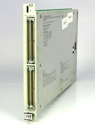 HP E1550A 32 channel balanced daisy chain switch module VXI bus 75000 series c