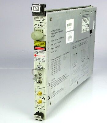 HP E1662B Sonet / SDH Optical transmitter 1550nm  75000 series 90