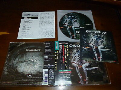 Kamelot / Poetry for the Poisoned JAPAN+1 w/Sticker D3