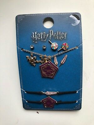 Harry Potter Necklace / Earrings / Bracelets Primark chocolate frog honeydukes