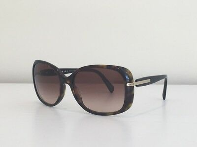 6eca12ed65e38 7 Prada SPR 08O 2AU-6S1 Square Havana Brown Gold Gradient Sunglasses 57 17