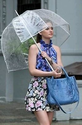 LARGE Colourful Umbrella Brolly Clear Umbrella for Weddings,festivals, events