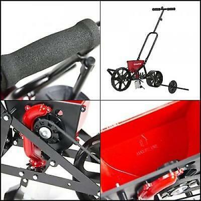 Garden Seeder Planter Row Vegetable Drop Beans Dual Hoppers With