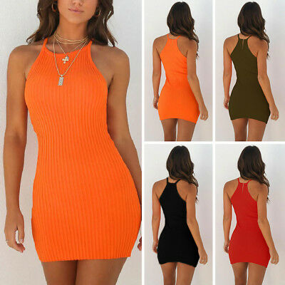Sexy-Womens-Sleeveless-Bandage-Bodycon-Evening-Party-Cocktail-Club-Mini-Dress