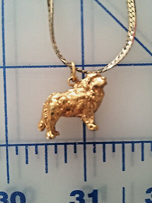 Gold Plated Newfoundland Necklace