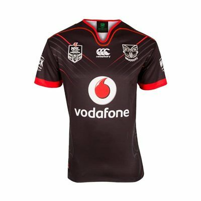 Canterbury New Zealand Warriors NRL 2017 Home Jersey