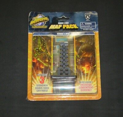 Monsterpocalypse Series 1: Rise Map Pack w/ Exclusive Government Building