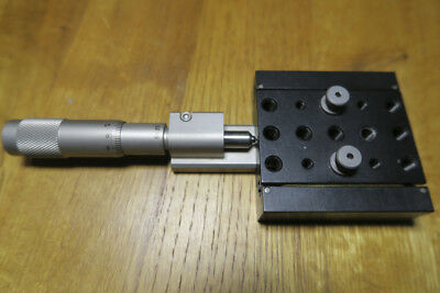 Newport M-460P-X Peg-Joining Linear Translation Stage with SM-25 Micrometer
