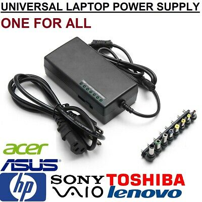 96W Power Supply Charger Universal for Laptop AC Adapter Asus Dell HP Acer Sony