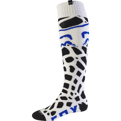 Fox Racing Coolmax Grav Thin Motocross Socks - White - Medium - BNWT