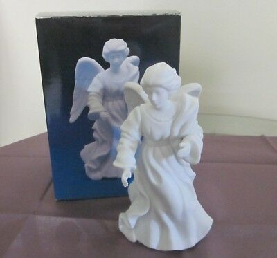 "1985 Avon Nativity Collectibles ""The Standing Angel"" Porcelain Figurine"