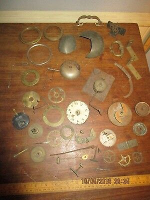 Antique Clock parts -18th / 19th Century Clock parts -  part stamped Wilson,Birm