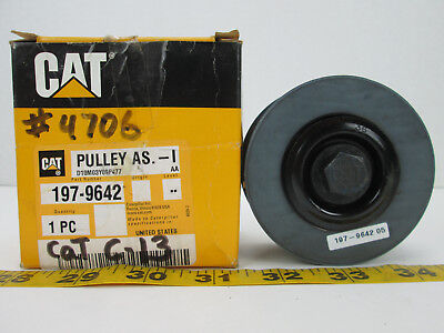 """CAT Caterpillar 3"""" Idler Pulley Part 197-9642 New Old Stock Replacement Spare T"""