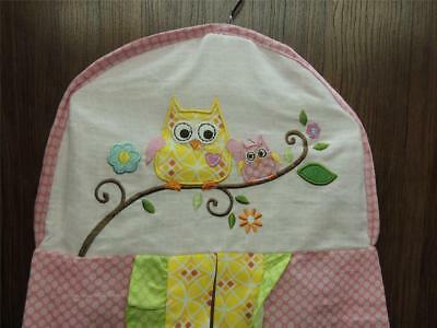 Kidsline Dena Happi Tree Diaper Stacker Yellow Pink Owls