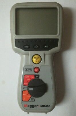 Megger MIT400 Analog/Digital Industrial Insulation and continuity Tester