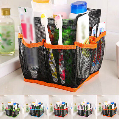 Bathroom Hanging Toiletry Storage Pouch Organizer Container Mesh Bag Portable