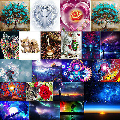 Full 5D Diamond Painting Embroidery Cross Crafts Stitch Kit DIY Home Decor Gift