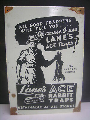 Ace Traps Dealer Style  Tin Sign  Free  Traps Dvd  Freepost Australia