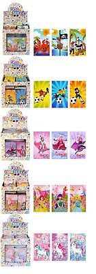 Boys Girl mini notepads great birthday party loot favour bag fillers