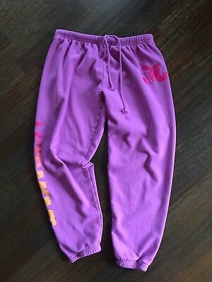 Jo+Jax Girls Yourh Purple Sweatpants Sz Large