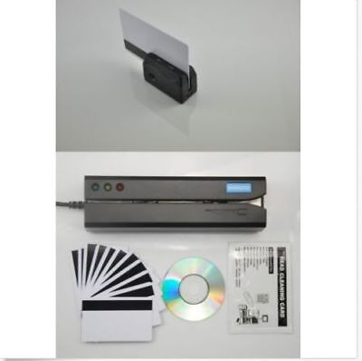 MSR605X+MINIDX3 Magnetic Credit Card Swipe Reader Writer Encoder Portable reader