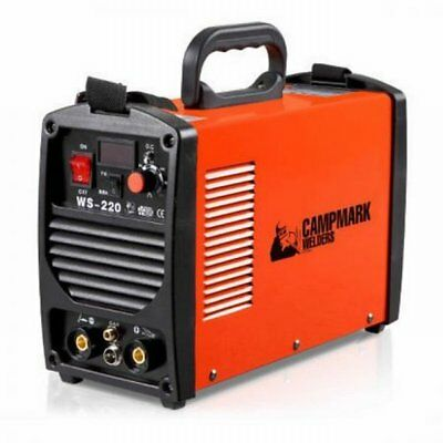 NEW Lightweight Twin Function Campmark TIG ARC DC Inverter Welder, Energy Saving