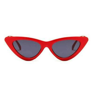 4921af0799ba Cat Eye Sunglasses Red Retro Rockabilly Pin Up 50 s Tipped Pointed Chic Cool