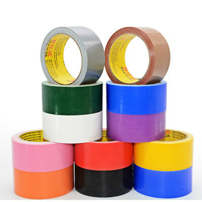 Colored Duct Cloth Tape Heavy Duty Waterproof for Carpet Wedding Exhibition