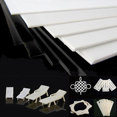 Thick 0.5-5mm ABS Plastic Sheet White Board Vacuum Forming DIY RC Body AU