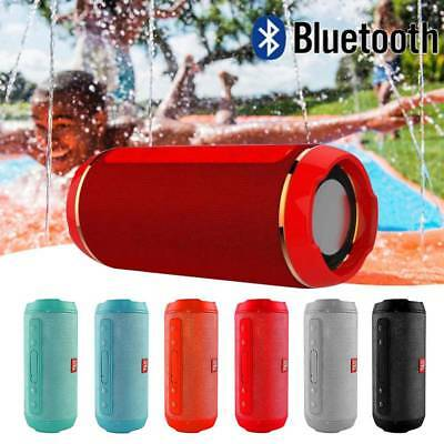 Wireless Bluetooth Lautsprecher Stereo Bass Speaker Soundbox FM Radio TF USB AUX