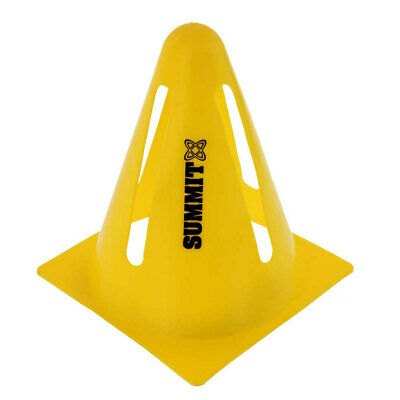 Summit Flexi Cones for Soccer/Rugby/Fitness/Exercise/Sports/Training Cone Yellow