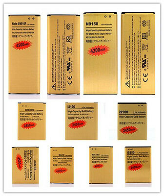 Li-ion Moible Battery For Samsung Galaxy S2 S3 S4 S5 Mini Note 2 3 4 Edge Lot