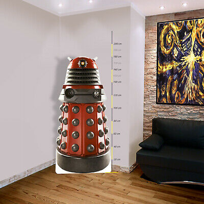 Doctor Who Pappaufsteller (Stand Up) - Dalek Drone (Rot) (182 cm)