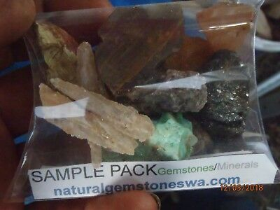 Small assortment WA Gemstone/Mineral pieces-Bargain grab a couple