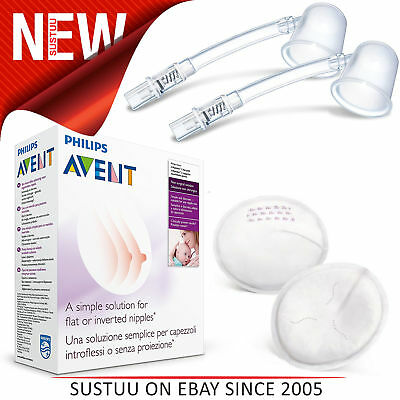 Philips Avent Niplette Twin Pack With 2xDisposable Breast Pads│Simple & Discreet