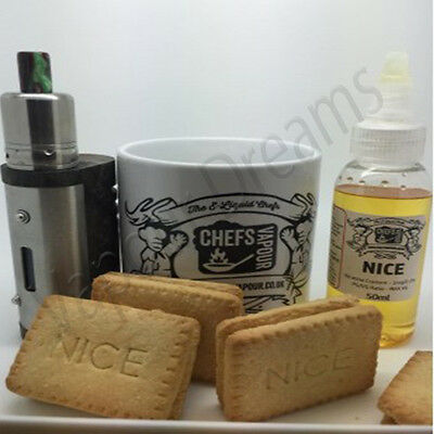 Nice Custard Cream Flavour Concentrate - Chefs Vapour