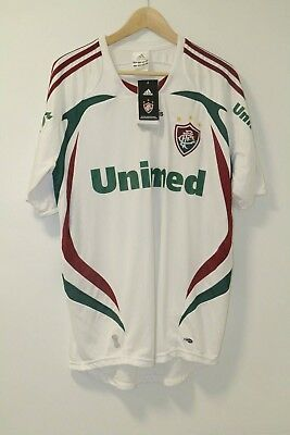 Fluminense Away Shirt Adidas 2008 Large BNWT