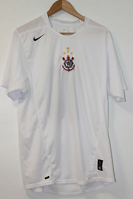 Corinthians 2005-2006 Home Shirt Large #10 (Tevez)