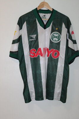 Coritiba 1998 Penalty Home Shirt Large #16