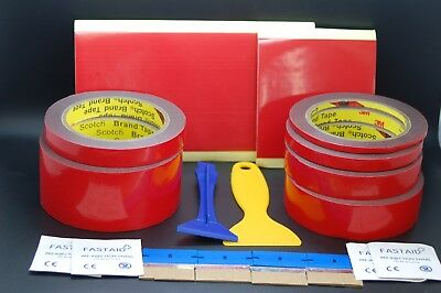 3M™ Vhb™ 4611 Double Sided Tape Set Preparation Tools,Heavy Duty Waterproof