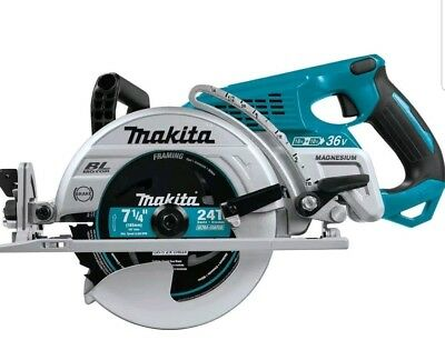 "Makita XSR01 Cordless 7 1/4"" Rear Handle X2 Circular Saw 18 Volt 18V 36V NEW"