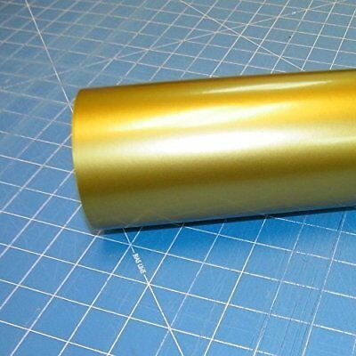 """Oracal 651 1 Roll 12/"""" x 10 ft.Gold #091 Vinyl for Craft,Sign,Cutter"""