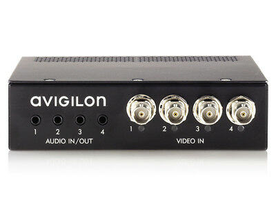 AVIGILON ENC-4P-H264 4-Port H.264 Analog Video Encoder With 4 Audio Support NEW