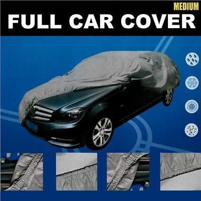 Medium Size M Full Car Cover UV Protection Waterproof Outdoor Indoor Breathable