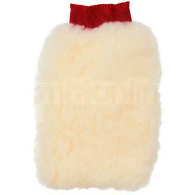 Commercial Red Cuff Wash Mitt Quality Trade Synthetic Wool Car Wash Valeting