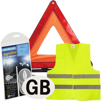 New Euro European Travel Kit Legal & Recommended Items For Driving In Belgium
