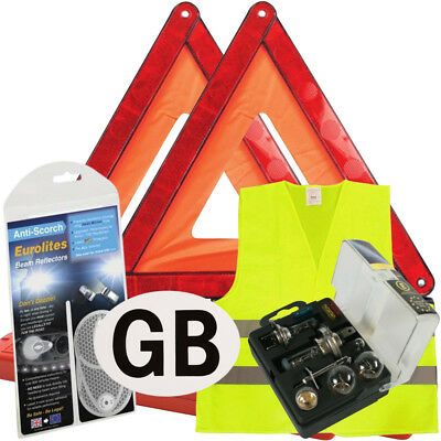 New Euro European Travel Kit Legal & Recommended Items For Driving In Spain