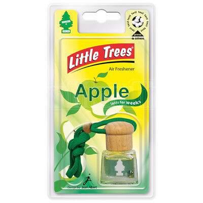 Little Trees Air Freshener Bottle Apple 4.5ml Mirror Hanging Scent Aroma Odour