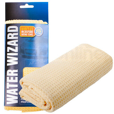 Super Absorbent Waffle Microfibre Drying Towel Water  56 X 76cm  Car Home Cloth